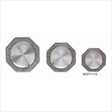MSP71112 - Pewter Coaster - Laurel Motif