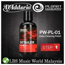 D'addario PW-PL-01 Planet Waves Guitar Restore Deep Cleaning Polish Cr