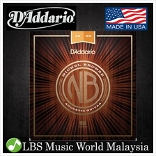 D 'Addario NB1256 Nickel Bronze Acoustic Guitar String Light Top Medium