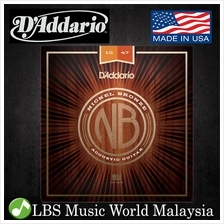 D 'Addario NB1047 Nickel Bronze Acoustic Guitar String Extra Light Dadd