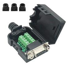 [From USA]Connector DB9 RS232 D-SUB Serial Adapters (Female Adapter + Nut)