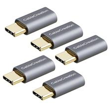[From USA]USB-C to Micro-B Adapter[5-Pack] CableCreation Type C Male to Micro