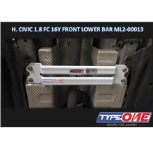 Type One Safety Bar-Honda Civic FC 16Y 1.8/1.5 2WD (Middle Lower Bar)