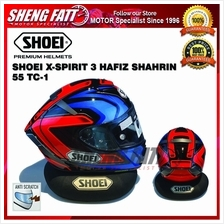 SHOEI X-Spirit 3/ X-Fourteen Hafiz Shahrin 55 TC-1 Helmet Motorcycle)