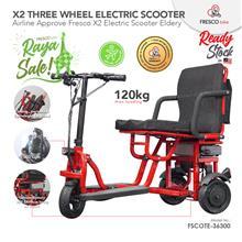 Fresco Three Wheel Scooter Electric Wheelchair X2