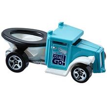 [From USA]Hot Wheels 2017 Experimotors Gotta Go (Toilet Car) 101/365 Turquoise