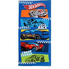 "[From USA]Franco Kids Super Soft Cotton Beach Towel 28"" x 58"" Hot Wheels 2"