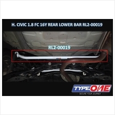Type One Safety Bar-Honda Civic 1.8/1.5T FC 16Y~19Y (Rear Lower Bar)