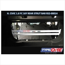 Type One Safety Bar-Honda Civic 1.8/1.5T FC 16Y~19Y (Rear Strut Bar)