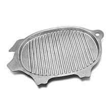 [USA Shipping]Wilton Armetale Gourmet Grillware Grilling Pan Pig 17-Inch