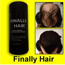 [From USA]Finally Hair Keratin Hair Building Fibers for Hair Thickening Fiber
