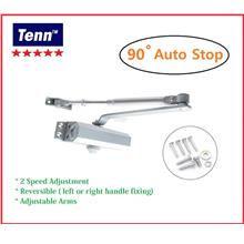 BELLE 061 HEAVY DUTY DOOR CLOSER 90 DEG AUTO STOP