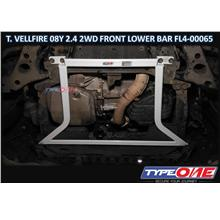 Type One Safety Bar-Toyota Vellfire AH20 08Y 2.4 2WD(Front Lower Bar)