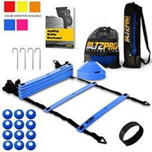 [From USA]Bltzpro Agility Ladder with Soccer Cones- A Speed Training Equipment
