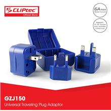 CLiPtec TRAVEL-OVERSEA Universal Travelling Plug Adaptor GZJ150)