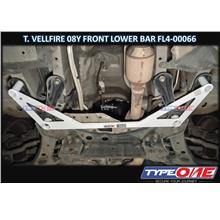 Type One-Toyota Alphard / Vellfire AH20 08Y 2.4 2WD (Front Lower Bar)