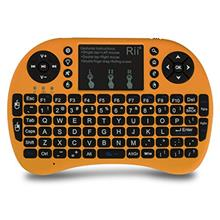 [From USA](Upgraded) Rii 2.4GHz Mini Wireless Keyboard with Touchpad&QWERTY