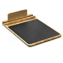 [From USA]Prosumer's Choice Bamboo Multifunctional Mouse Pad and Desk Organize