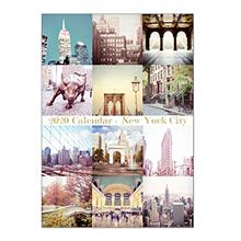 [Free shipping]2020 New York City Desktop Calendar with Display Frame 5x7 inch