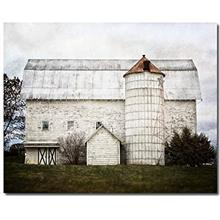 [Free shipping]Farmhouse Decor Photograph Fixer Upper Style Wall Art White Bar