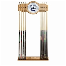 [Free shipping]Trademark Gameroom NHL Vancouver Canucks Cue Rack with Mirror