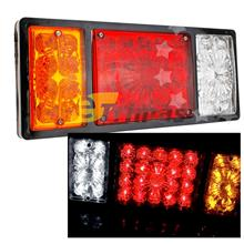 36LED Tail Lights Trailer Truck Ute Caravan Brake Lamp 24V (1PC)