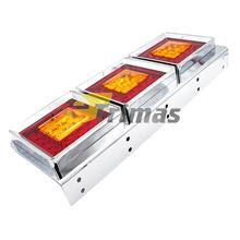 75LED Hino Trailer Truck Lorry Freight Car Rear LED Tail Light Lamp (1PC)