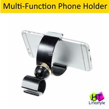 C-shape Multi-Function Bicycle Car Mount Phone Holder Stand