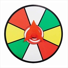 "[Free shipping]Prize Wheel 12"" Magnetic Mount Color Dry Erase Face Spinner f"