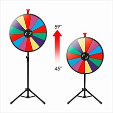 [Free shipping]Nova Microdermabrasion 24 Inches Color Prize Wheel with Folding