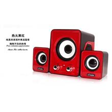 Desktop multimedia notebook computer mini speaker stereo subwoofer USB