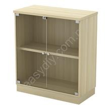 Office Furniture / Swing Glass Door Low Cabinet - Q-YG 9