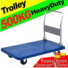 Trolley Industrial Warehouse Heavy Duty Hand Truck 500kg Troli 5Tayar
