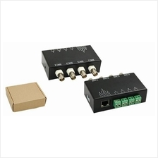 4 Channel Video BNC to UTP RJ45 Balun CCTV Camera DVR
