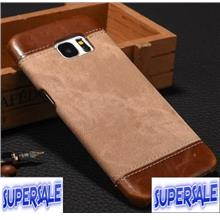 Denim Leather Casing Case Cover for S7