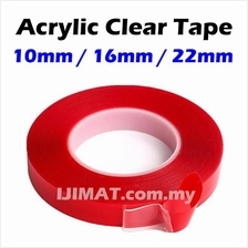 Acrylic Clear Tape / Transparent Double Sided Tape Clear Adhesive Tape