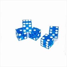 [Free shipping]X-lion Set of 5 Grade AAA 19mm Casino Dice with Razor Edges
