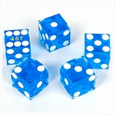 [Free shipping]GAMELAND Grade AAA 19mm Casino Dice with Razor Edges and Matchi