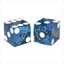 [Free shipping]Cyber-Deals Wide Selection of 19mm Craps Dice - Authentic Las V