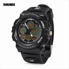 SKMEI 1163 DUAL MOVT QUARTZ WATCH LED DIGITAL LIGHT LUMINOUS POINTER CALENDAR