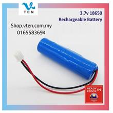 18650 3.7v Rechargeable Battery 1500mAh Protected PCB Wire Solar