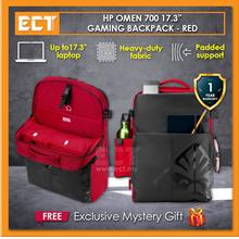 "HP Omen 700 17.3 "" Gaming Backpack Bag - Black and Red"
