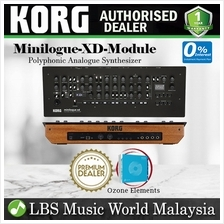 Korg Minilogue XD Module 4 Voice Analog Digital Synthesizer with Effec