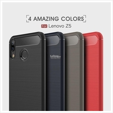 Lenovo Z5 Rugged Armor Soft Silicone TPU Back Case Cover Casing