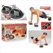 Push Up Pro Premium with Rotating Cuffs & Grips for Ultimate Body !