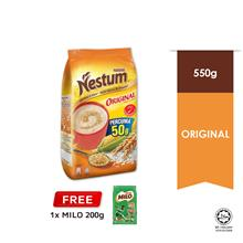 Nestle NESTUM All Family Cereal Original 550g, Free Milo 200g)