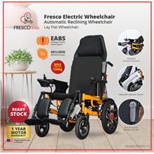 Fresco Lie Down Electric Wheelchair Automatic Reclining Wheelchair