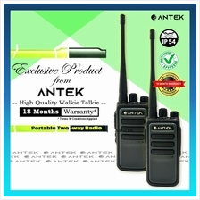 Walkie Talkie ✨ Antek AT-218 High Quality UHF Transceiver Security