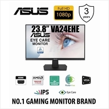 "Asus 23.8"" VA24EHE Eye Care Monitor (FHD/IPS/Frameless/Flicker Free)"
