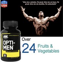 Opti-Men 90 Tablets (Whey, Casein, Amino, Protein) Opti men, Optimen